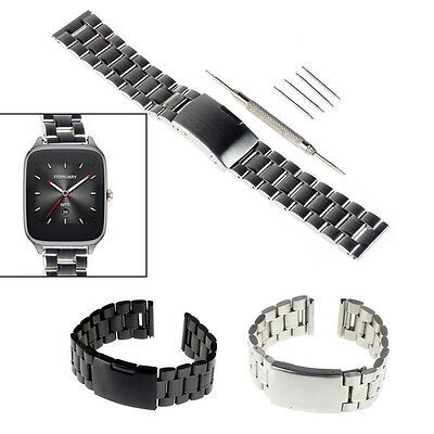 22Mm Stainless Steel Watch Band For Martian Notifier Fossil Q Founder  Vector