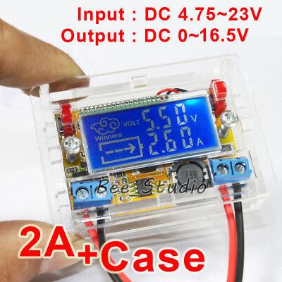 Lcd Display Dc Buck Step-down Voltage Converter Regulator 5v-23v To 6v 9v 12v 2a