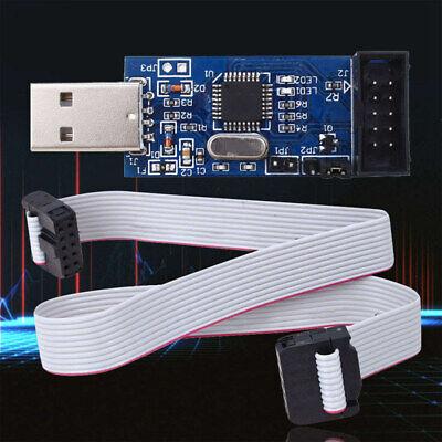 USB ISP USBASP Programmer AVR ATMEL ATMega8 Download Pin IDC Cable 3.3V  ZMM (Avr 8 Pin)