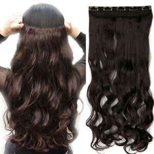 3 sets of brand new clip in hair extensions 24 inches length