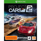 Microsoft Xbox Project CARS 2 Video Games