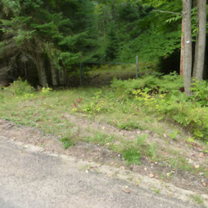 2.7 acres, $3,499 down, 10 year open mtg, Haliburton, $390 mo