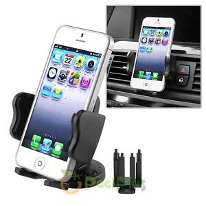 Universal In Car Holder Air Vent Mount Stick Cradle For Mobile Cell Phone
