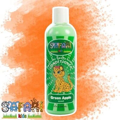 Safari Kids Hair Conditioner - Green Apple