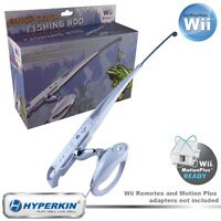 Wii Fishing Rod with Reel  and CD