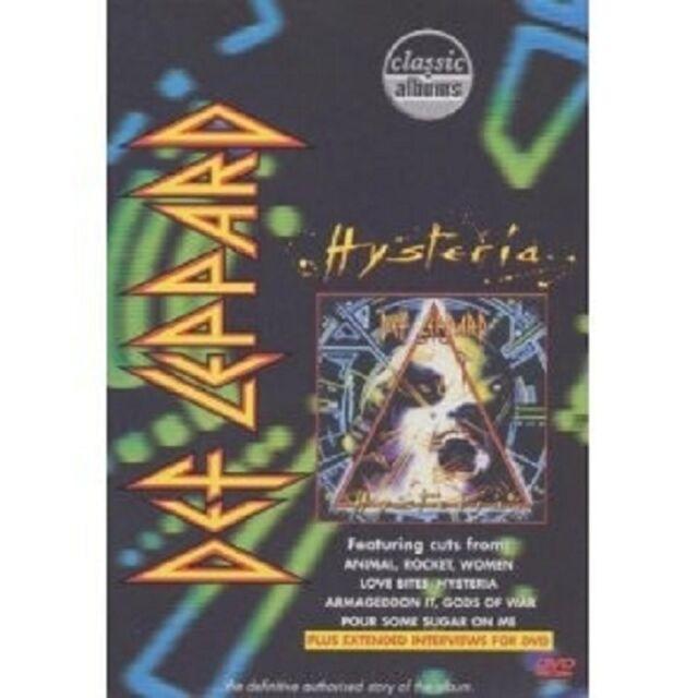 DEF LEPPARD-HYSTERIA (CLASSIC ALBUMS) DVD NEU