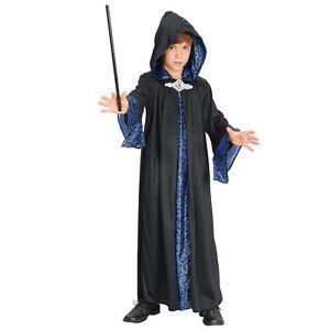 infantil-CARNAVAL-Mago-Bata-Disfraz-Halloween-Todas-Las-Tallas