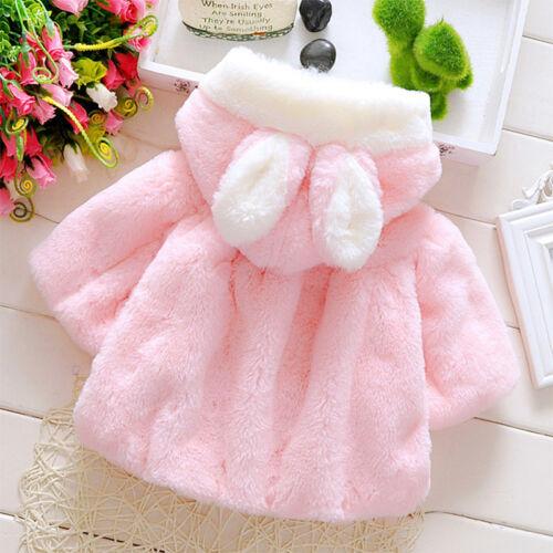 Kids Warm Coat Toddler Fleece Winter Outerwear
