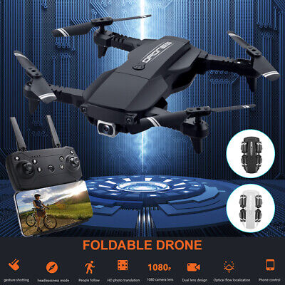 Quadcopter RC Drone 1080P 4K HD With WIFI FPV Camera High Altitude Hold Foldable