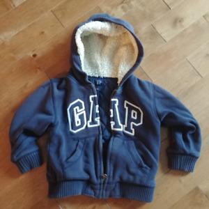 Gap hoody (lined).  Boys Size 4.