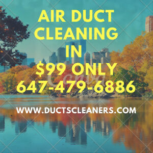 Hamilton Duct Cleaning Stoney Creek  Deal $99 Call 647-479-6886