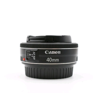 Canon ef 40mm 2.8 lens