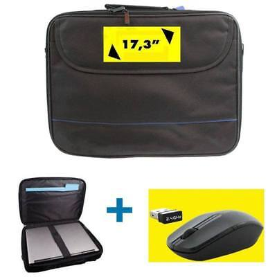 17,3 ZOLL Notebooktasche  INNOVATION IT Classic Black + Schnurlose Maus Set NEU ()
