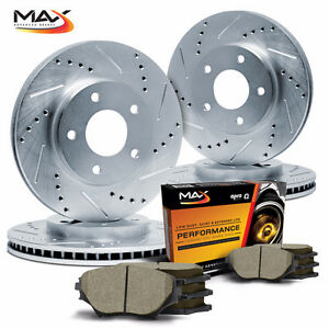 Free Shipping Max Slot &Drill Brake Rotors & Free Pad Promotion!