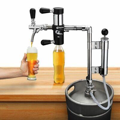 Pump Beer Tap Brewing De-foaming Device Beer Keg Pumps Bottle Filler Equipment
