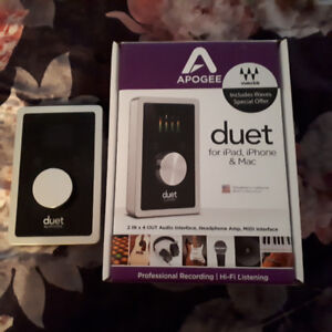 Apogee Duet for iPad iPhone & Mac