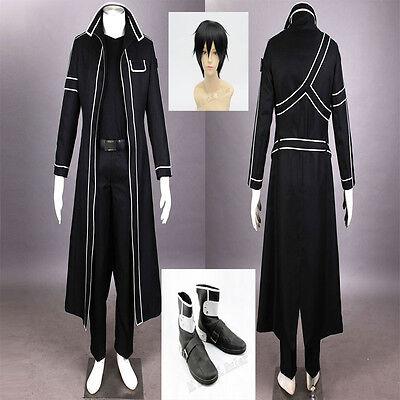 Highest Quality Sword Art Online Kirito Anime cosplay costume Christmas ](Quality Costumes Online)