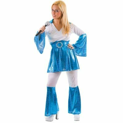 MAMMA MIA FANCY DRESS COSTUME LADIES - Mamma Mia Fancy Dress Kostüm