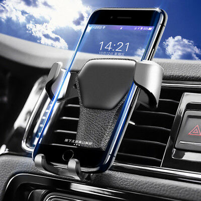 Gravity Car Air Vent Mount Cradle Holder Stand For Mobile Phone iPhone GPS US 2H Gps Air Vent Mount