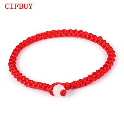 Einfache Armbänd Glückliche Chinese Geflochtene Rote Schnur Seil Schnur Geschenk (Chinesische Rote Schnur Armband)