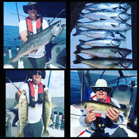 Fishing Charters - Lake Huron (Grand Bend)