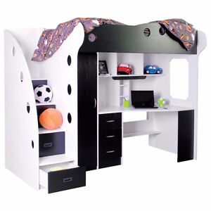 Nika Loft bed from jysk (ad will be taken down when sold)