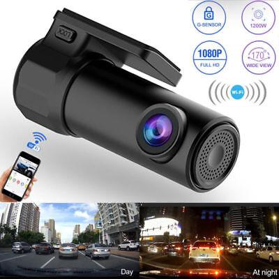 Auto Wifi Kamera DVR HD 720P Dash Cam Nachtsicht Videorecorder Mini 170° Monitor