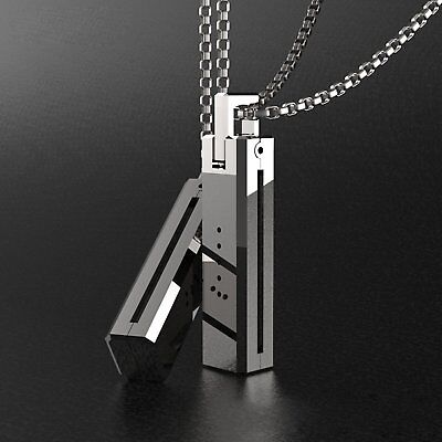 Stainless Steel Necklace Pendant Chain Magnet Holder For Fitbit Flex 2 Tracker