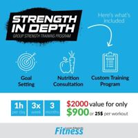 Strength in Depth - Group Training Sessions