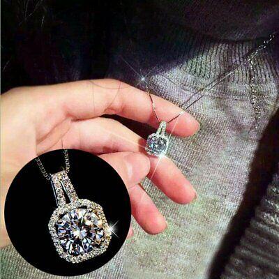 Fashion Women Pendant Crystal Choker Chunky Statement Chain Bib Necklace Jewelry Fashion Jewelry