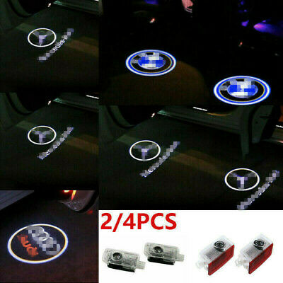 LED Logo Welcome Projector Car Door Lights Shadow Puddle Courtesy Laser Lamp HOT