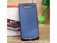 SONY ERICSSON XPERIA ARC S LT18i MOBILE PHONE - MIDNIGHT BLUE - UNLOCKED - SCREEN NEEDS REPLACING!