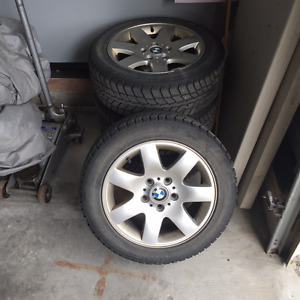 BMW 3 series wheels and winter tires