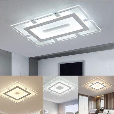 Square LED Ceiling Light Flush Mount Kitchen Bedroom Down Lighting Fixture Lamp Square Light Fixture