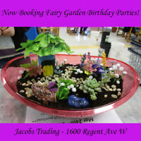 Now Booking Fairy Garden Birthday Parties (and more!!)