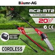 20V Lithium Pole Chainsaw Hedge Trimmer Battery Electric Cordless Brisbane City Brisbane North West Preview
