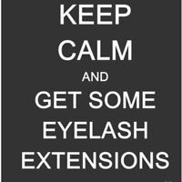 Classic eyelash extensions! For only $75.