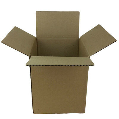 25 - 4 X 4 X 4 Corrugated Carton Boxes