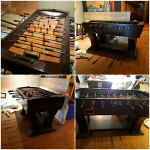 Mint condition foosball table