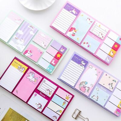 Cartoon Memo Pad Note Pads Sticky Notes Scrapbooking Crafts Diy Stationery Label