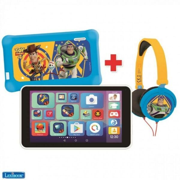 Toy Story Tablet With Headphones + Pouch