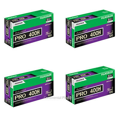 20 Rolls Fuji Pro 400H ISO 400 120 Excellent Color Negative Film 02/2020