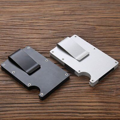 RFID Blocking Metal Wallet The Minimalist Wallets Credit card Holders Money Clip