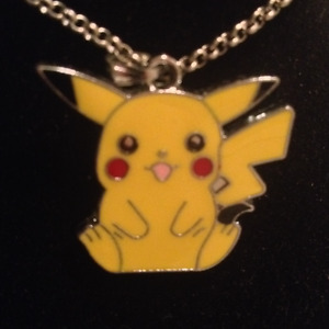 Lucky Pikachu Pendant Necklace