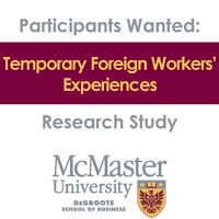 WANTED: Study Participants - Temporary Foreign Worker Program