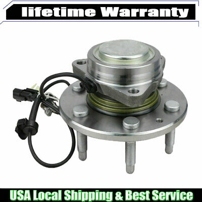 (1) Front Wheel Bearing and Hubs for Chevy Suburban Silverado 1500 Tahoe 2WD ECF