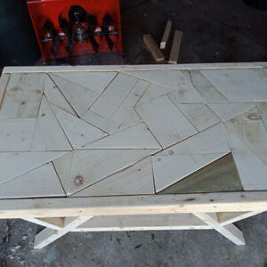BRAND NEW TABLE..FUNKY DESIGN ORIGINAL AND SOLID