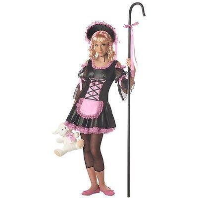 Girl JRs LITTLE BO PEEP Costume Shepherd Dress Bonnet Pre Teen Tween Large 10 - Bo Peep Bonnet