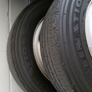 """2016 Jeep Cherokee 16"""" All Seasons Tires with Rims and Sensors"""