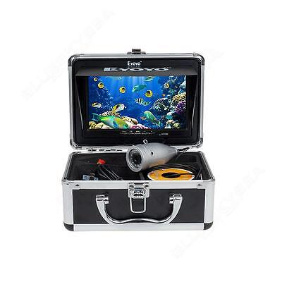 "Eyoyo Fish Finder IR Underwater Fishing Video DVR Camera 7"" TFT Screen&50m Cable"